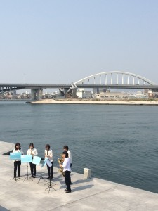 水辺のギャラリーコンサート